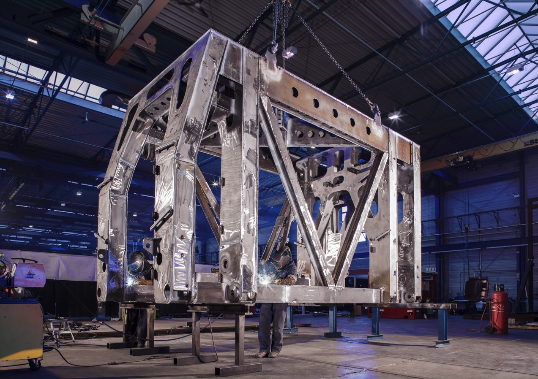 Dyer Engineering steel fabrication machine